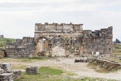 Древний город Pamukkale Турция Hierapolis стоковые изображения