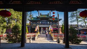 Древний город Pingyao стоковая фотография rf