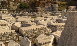 Древний город агоры Izmir Стоковые Изображения RF