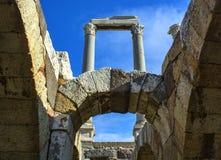 Древний город агоры Izmir Стоковое Изображение RF