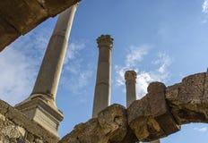 Древний город агоры Izmir Стоковая Фотография