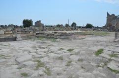 Древний город Антальи Perge, агора, старая римская империя, Стоковые Фотографии RF