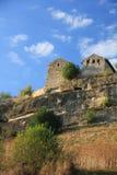 Древний город в горах Стоковые Фотографии RF