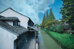 Древний город Шанхая Fengjin Китая Стоковые Изображения RF