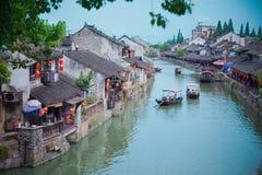 Древний город Шанхая Fengjin Китая Стоковые Изображения