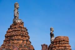 Древний город Ayuttaya Стоковая Фотография RF