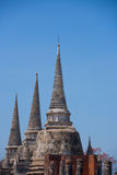 Древний город Ayuttaya Стоковое фото RF
