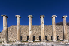 Древний город Bergama Стоковое Фото