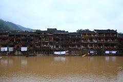 Древний город Fenghuang, Китай Стоковое Изображение