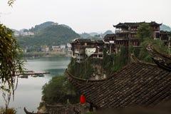 Древний город Furong Стоковое Изображение RF