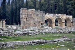 Древний город Hierapolis Стоковые Фотографии RF