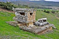 Древний город Hierapolis Стоковые Изображения RF