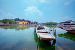 Древний город Jinxi Китая Стоковые Фотографии RF