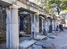 Древний город Priene Стоковое фото RF