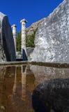 Древний город Priene Стоковое Изображение
