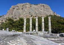 Древний город Priene Стоковое Изображение RF