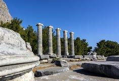 Древний город Priene Стоковые Изображения RF
