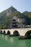 Древний город Zhenyuan в Гуйчжоу Китае Стоковое Фото