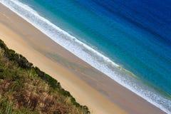 Древний пляж на острове Bruny Стоковые Изображения