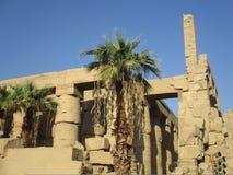 Древний храм на Луксоре Стоковые Изображения RF