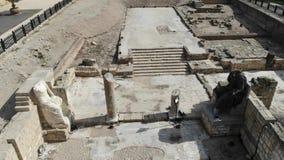 Древний храм Юпитера сток-видео