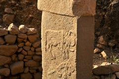 Древний храм Gobeklitepe Стоковые Фотографии RF