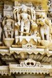 Древний храм Jagdish в Udaipur, Индия, стоковое изображение rf