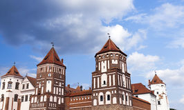 Древняя крепость, Беларусь стоковое фото rf