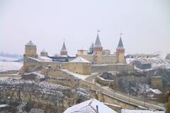 Древняя крепость - взгляд в средние возрасты Стоковые Фотографии RF