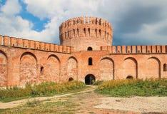 Древняя крепость в Смоленске стоковое изображение