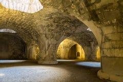 Древняя крепость Munot Интерьер Schaffhausen Швейцария Стоковая Фотография