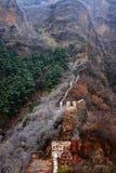 Древняя стена с ледистым яблоком Стоковая Фотография RF