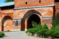 Древняя стена с стробом стоковые изображения rf