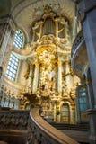 22 01 2018 Дрезден, Германия - Дрезден, Германия Интерьер  Стоковые Фото