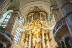 22 01 2018 Дрезден, Германия - Дрезден, Германия Интерьер  Стоковые Фотографии RF