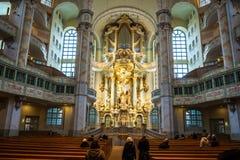 22 01 2018 Дрезден, Германия - Дрезден, Германия Интерьер  Стоковое Изображение RF