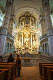 22 01 2018 Дрезден, Германия - Дрезден, Германия Интерьер  Стоковое Фото