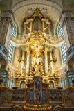 22 01 2018 Дрезден, Германия - Дрезден, Германия Интерьер  Стоковая Фотография RF