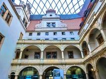 Дрезден, Германия - 31-ое декабря 2017: Дворец Zwinger, Дрезден, Саксония, Германия, Европа стоковые фотографии rf