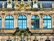 Дрезден, Германия - 31-ое декабря 2017: Дворец Zwinger, Дрезден, Саксония, Германия, Европа стоковое фото