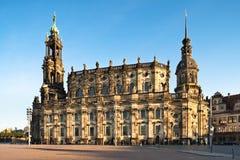 Дрезден Hofkirche стоковые фото