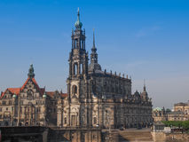 Дрезден Hofkirche стоковые фотографии rf