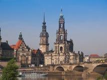 Дрезден Hofkirche стоковое фото rf