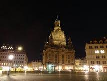 Дрезден Neumarkt Стоковые Фото