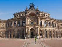 Дрезден Semperoper Стоковые Изображения