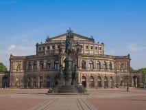 Дрезден Semperoper Стоковые Фото