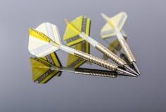 3 дротика на glas Стоковые Изображения RF