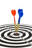 дротики dartboard Стоковая Фотография RF