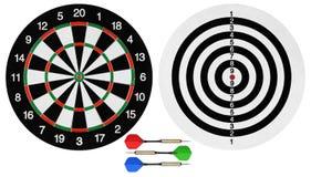 дротики dartboards Стоковое Изображение RF