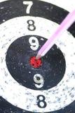 Дротик стрелки карандаша цели Стоковые Изображения RF